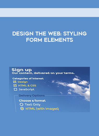 Design the Web: Styling Form Elements form https://koiforest.com/