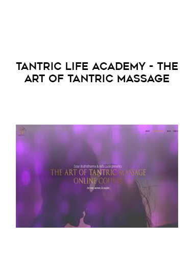 Tantric Life Academy - The Art Of Tantric Massage form https://koiforest.com/