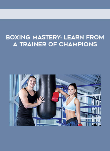 Boxing Mastery: Learn from a Trainer of Champions form https://koiforest.com/