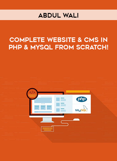 Abdul Wali - Complete Website & CMS in PHP & MySQL From Scratch! form https://koiforest.com/