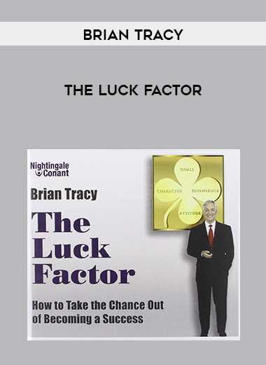 Brian Tracy - The Luck Factor form https://koiforest.com/