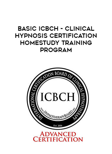 BASIC ICBCH - Clinical Hypnosis Certification Homestudy Training Program form https://koiforest.com/