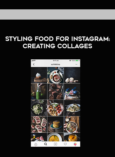 Styling Food for Instagram - Creating Collages form https://koiforest.com/
