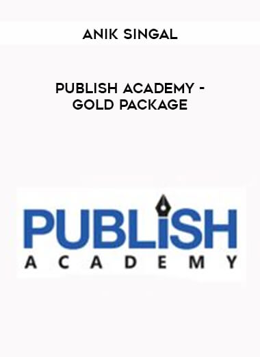 Anik Singal - Publish Academy - Gold Package form https://koiforest.com/
