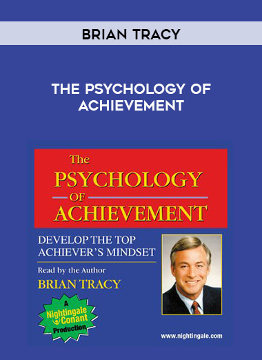 Brian Tracy - The Psychology of Achievement form https://koiforest.com/