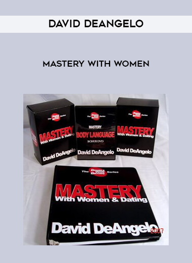 David DeAngelo - Mastery With Women form https://koiforest.com/