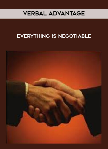 verbal Advantage - Everything Is Negotiable form https://koiforest.com/