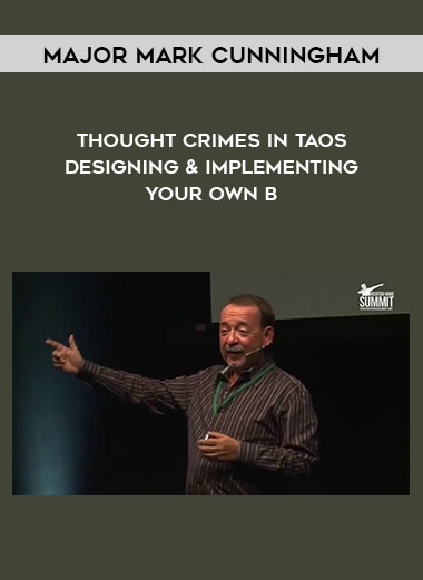 Major Mark Cunningham - Thought Crimes in Taos - Designing & Implementing your Own B form https://koiforest.com/