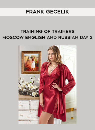 Frank Gecelik - Training of trainers - Moscow - english and russian day 2 form https://koiforest.com/