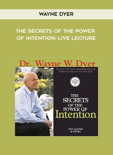 Wayne Dyer - The Secrets of the Power of Intention: Live Lecture form https://koiforest.com/