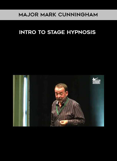 Major Mark Cunningham - INTRO to Stage Hypnosis form https://koiforest.com/