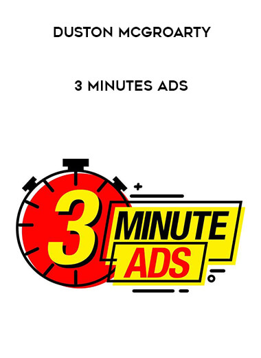 Duston McGroarty - 3 Minutes Ads form https://koiforest.com/