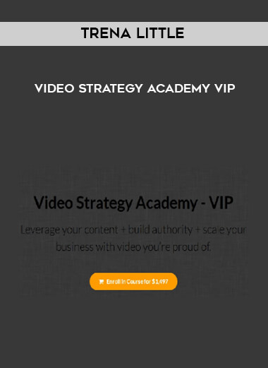 Trena Little - Video Strategy Academy VIP form https://koiforest.com/