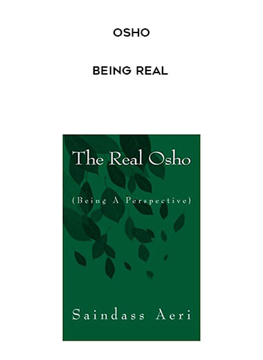 Osho - Being Real form https://koiforest.com/