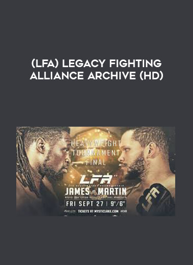 (LFA) Legacy Fighting Alliance Archive (HD) 1080p form https://koiforest.com/
