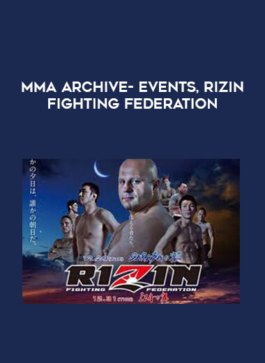 MMA Archive- Events