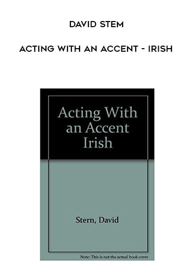 David Stem - Acting with an Accent - Irish form https://koiforest.com/
