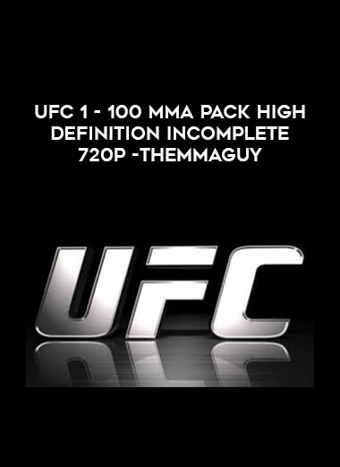 UFC 1 - 100 MMA Pack High Definition Incomplete 720p -THEMMAGUY form https://koiforest.com/
