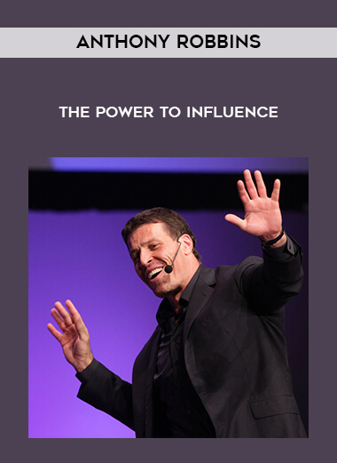 Anthony Robbins - The Power To Influence form https://koiforest.com/