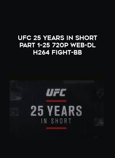 UFC 25 Years In Short Part 1-25 720p WEB-DL H264 Fight-BB form https://koiforest.com/
