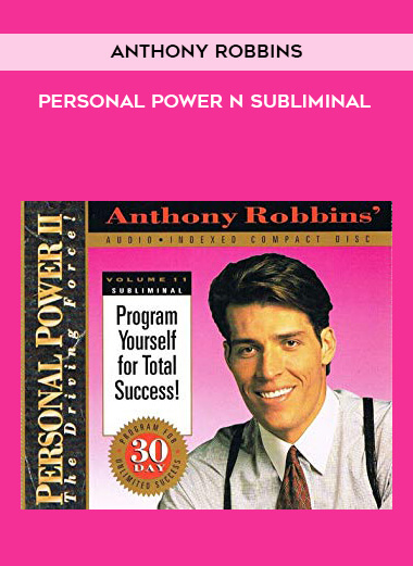 Anthony Robbins - Personal Power n Subliminal form https://koiforest.com/