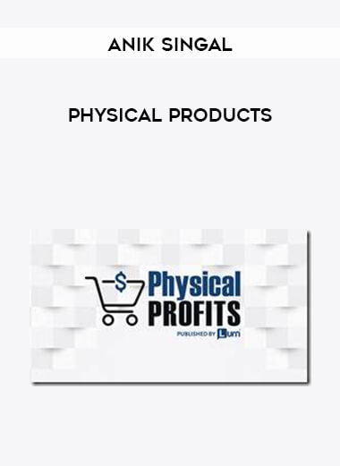 Anik Singal - Physical Products form https://koiforest.com/