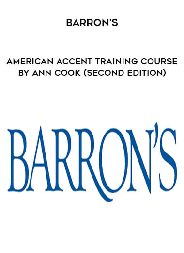 Barron's - American Accent Training Course by Ann Cook (Second Edition) form https://koiforest.com/