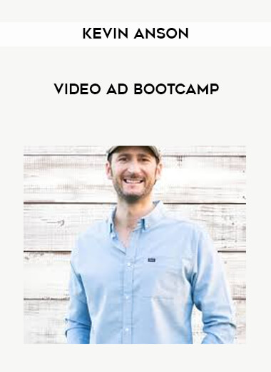 Kevin Anson - Video Ad Bootcamp form https://koiforest.com/