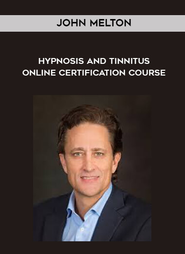 John Melton - Hypnosis and Tinnitus - Online Certification Course form https://koiforest.com/