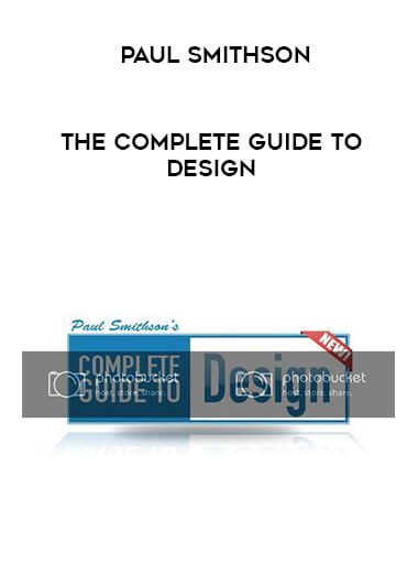 Paul Smithson - The Complete Guide To Design form https://koiforest.com/
