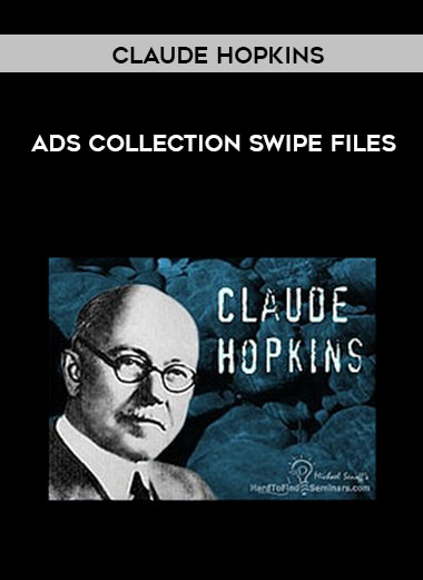 Claude Hopkins - Ads Collection Swipe Files form https://koiforest.com/