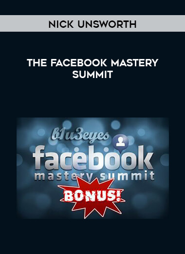 Nick Unsworth - The Facebook Mastery Summit form https://koiforest.com/