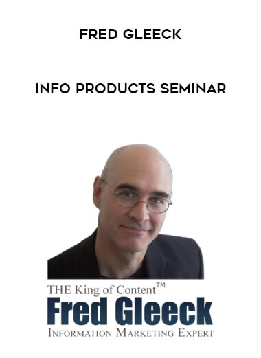 Fred Gleeck - Info Products Seminar form https://koiforest.com/