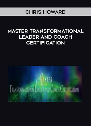 Chris Howard - Master Transformational Leader and Coach Certification form https://koiforest.com/